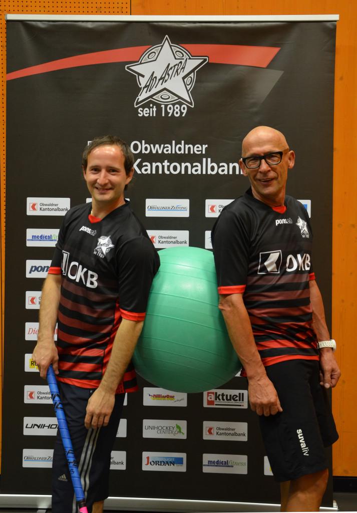 Führen neu die Zügel der Herren von Ad Astra: Cheftrainer Michal Rybka (links) und Physis-Trainer Hubi Flüeler (rechts).