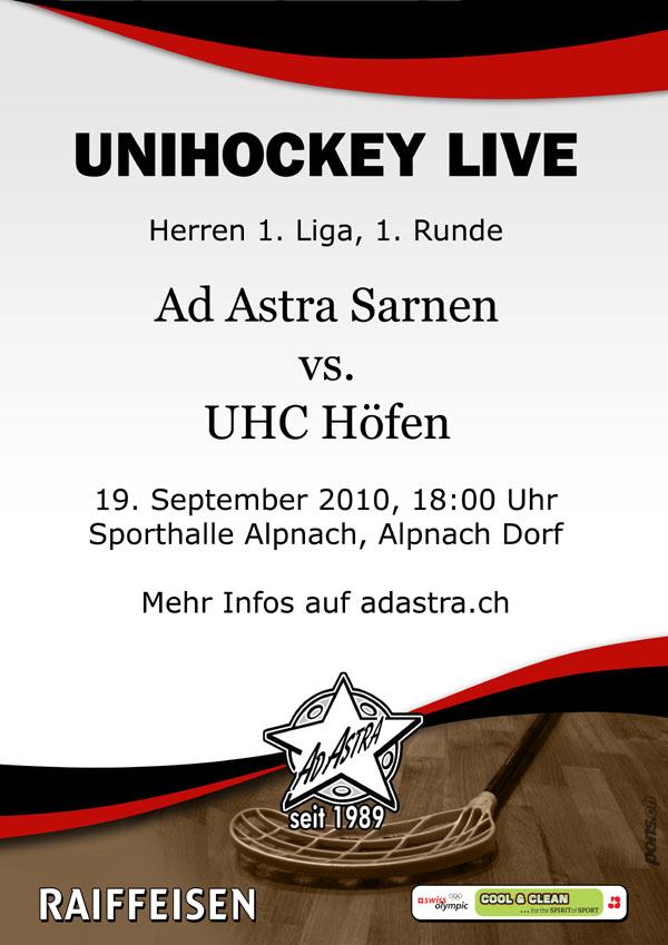 Ad Astra Sarnen - UHC Höfen
