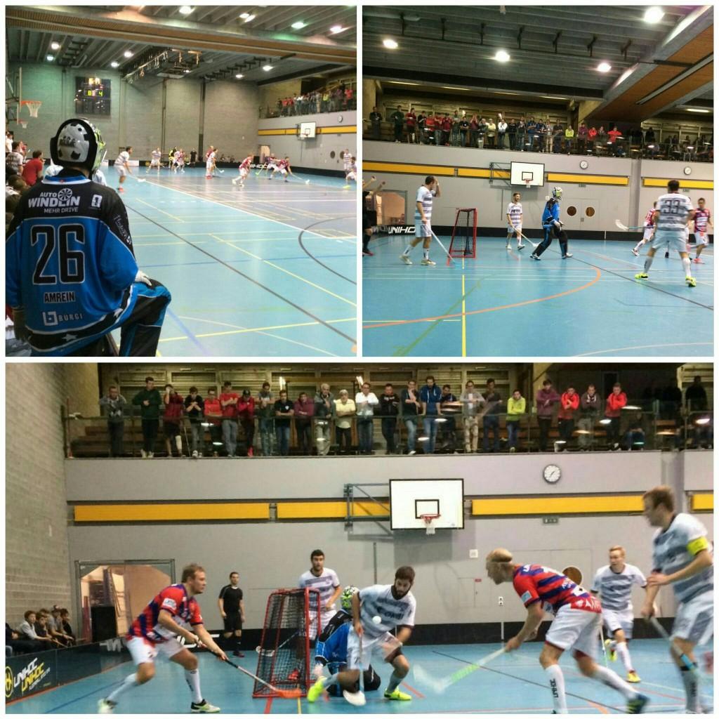 Impressionen vom Auswärtsspiel gegen Ticino Unihockey