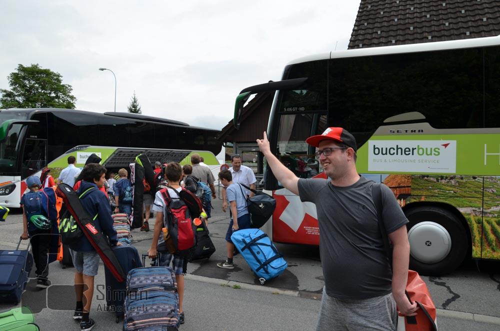 Roger Hänni kennt den Weg nach Appenzell (Foto: Simon Abächerli)
