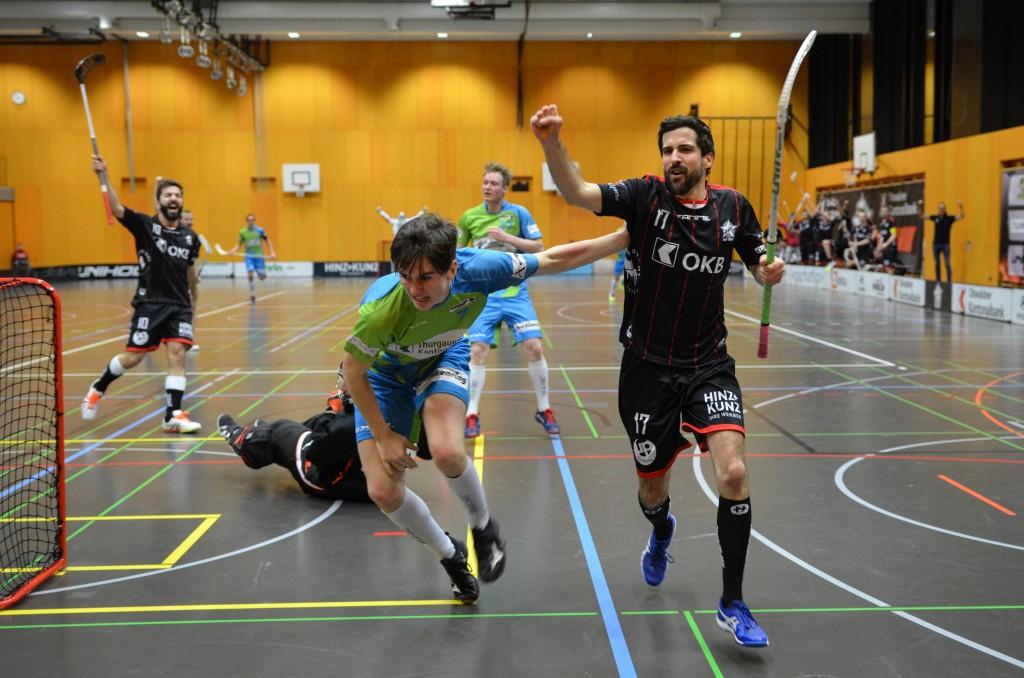Christof Ming will mit seinen Teamkollegen am Wochenende wieder jubeln (Foto: Simon Abächerli)