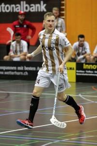 Jonas Höltschi im Einsatz (Foto: Janne Aaltonen)