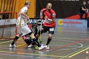 Tatu Eronen im Heimspiel gegen die Red Devils March-Höfe Altendorf (Foto: Janne Aaltonen)