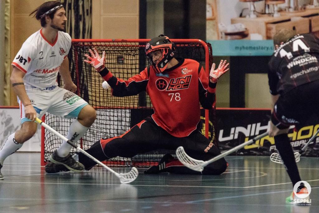 Markström überwindet Fleischmann zum 0:2 (Foto: Pascal Müller)