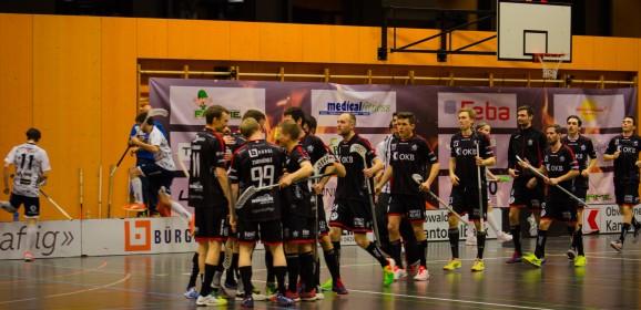 Doppelte Aufstiegsspiele gegen den UHC Thun