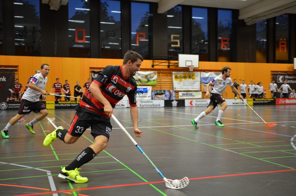 Marco Schöni im Einsatz gegen ULA (Foto: Simon Abächerli)