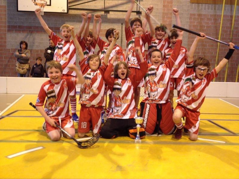 D-Junioren Team OW gewinnen Blenio Cup