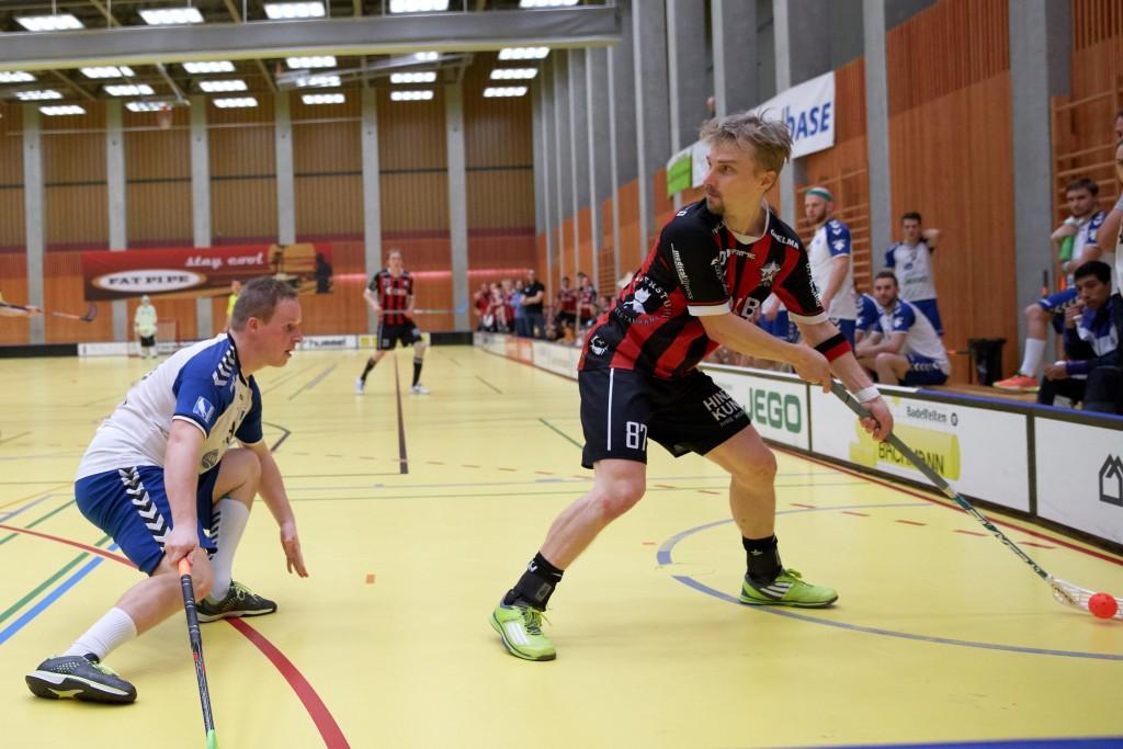 Janne Kainulainen im Einsatz für Ad Astra Sarnen (Foto: Michael Peter)