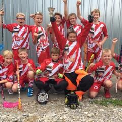 D-Junioren gewinnen Satus Trophy