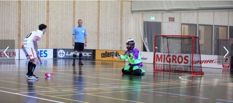 Das Penaltyschiessen musste entscheiden (Foto: Chur Unihockey)