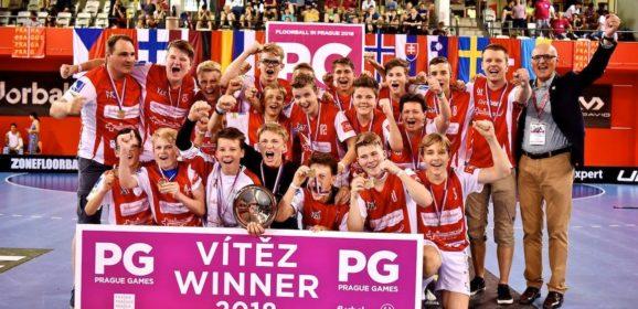 Erfolgreiche Sarner Junioren an den Prague Games