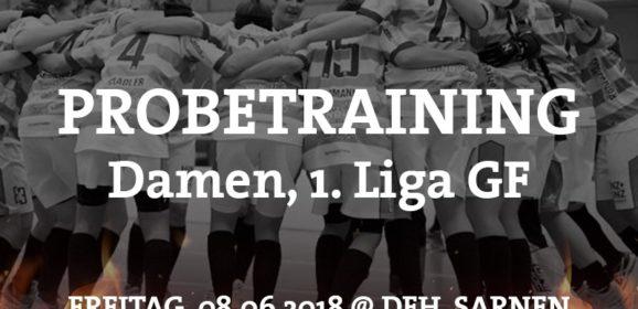 Probetraining Damen 1. Liga GF – Ad Astra Sarnen