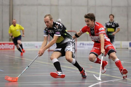 Robin Markström (am Ball) verstärkt ab der nächsten Saison Ad Astra Sarnen (Foto: Wilä Hinz)