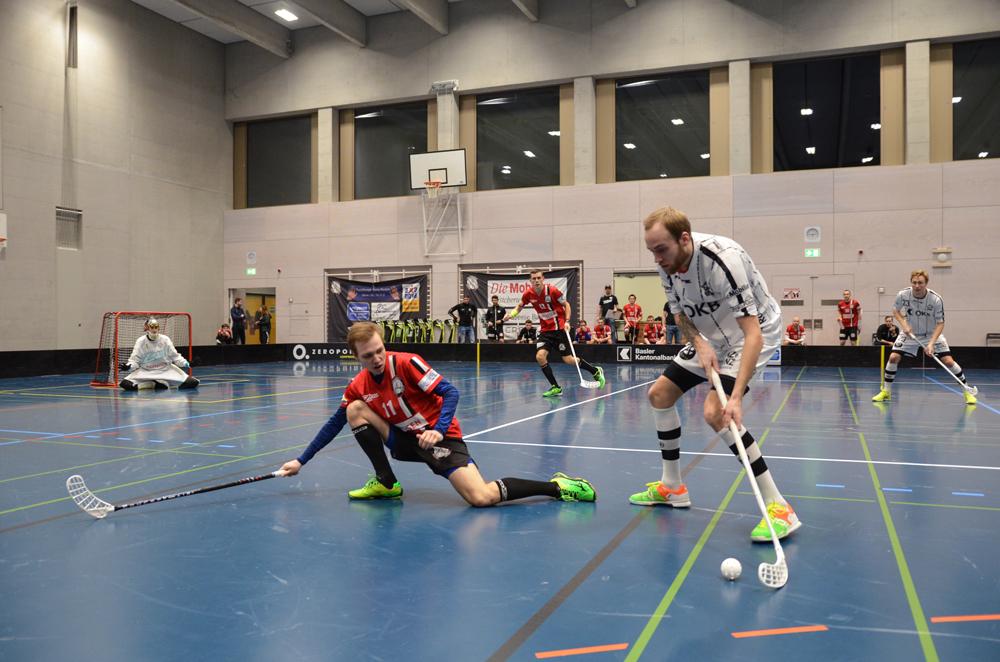 Robin Markström im Einsatz gegen den Leader Basel Regio (Foto: Simon Abächerli)