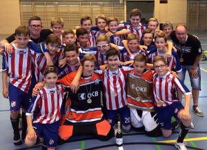 Die Unterwaldner U15-Auswahl holt sich den Sieg an der Kantonstrophy 2015