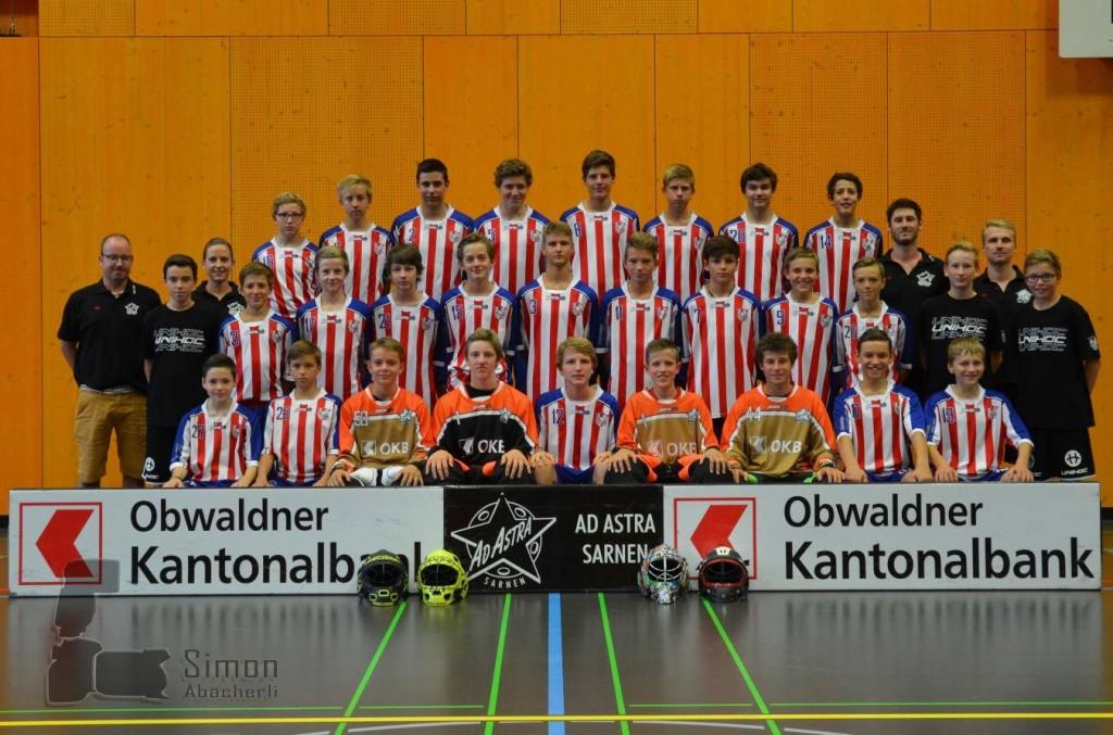 Das Teamfoto der U16-Mannschaft vom Team Unterwalden (Foto: Simon Abächerli)