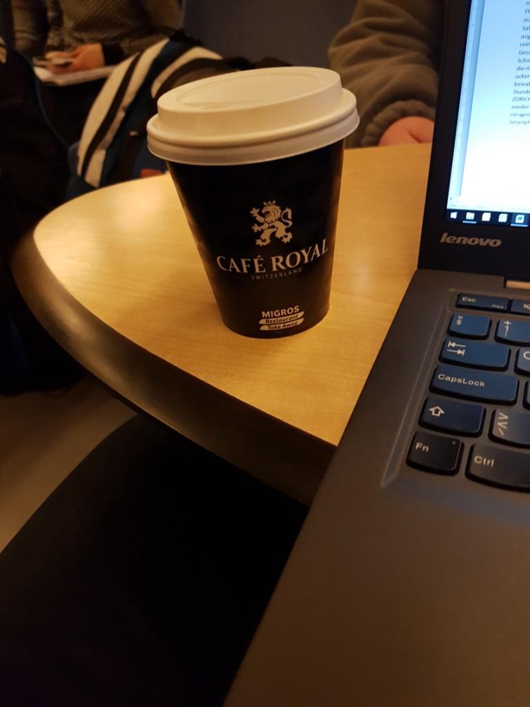 CAFÉ ROYAL vom Migros Take Away