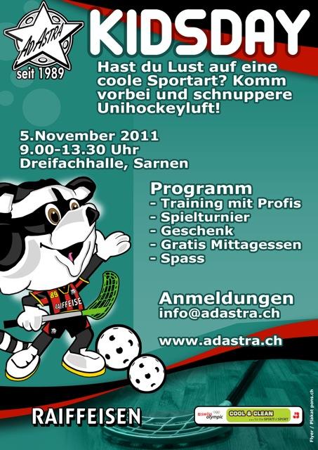 Ad Astra Sarnen - Kidsday 2011