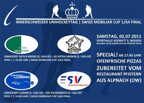 Innerschweizer Unihockey-Tag mit zwei Cup-Derbies