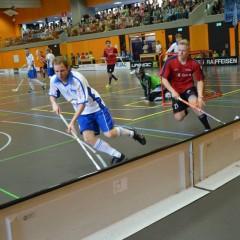 Obwaldner Unihockey-Fest in der Dreifachhalle
