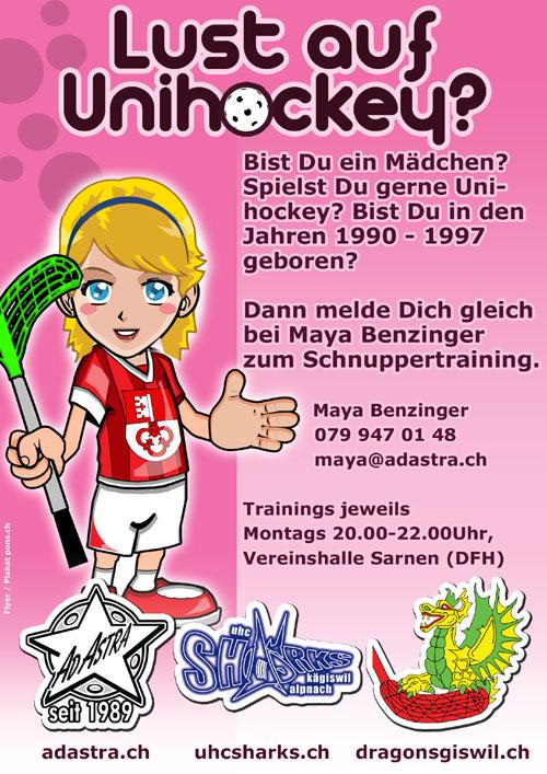 Lust auf Unihockey?