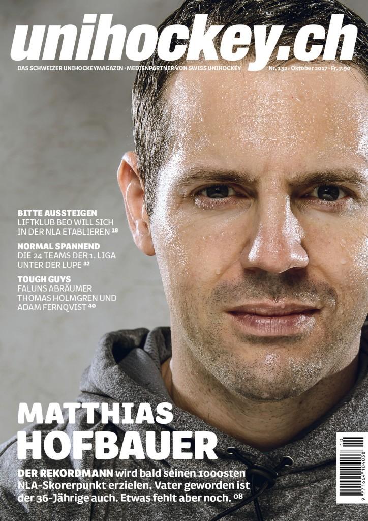 Das Cover der neusten Ausgabe von Unihockey.ch