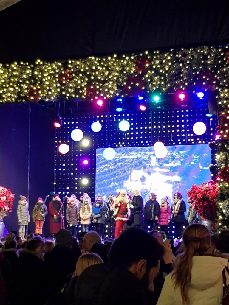 Der Santa Claus von Tallinn.